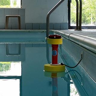 ShockAlarm Device in Pool